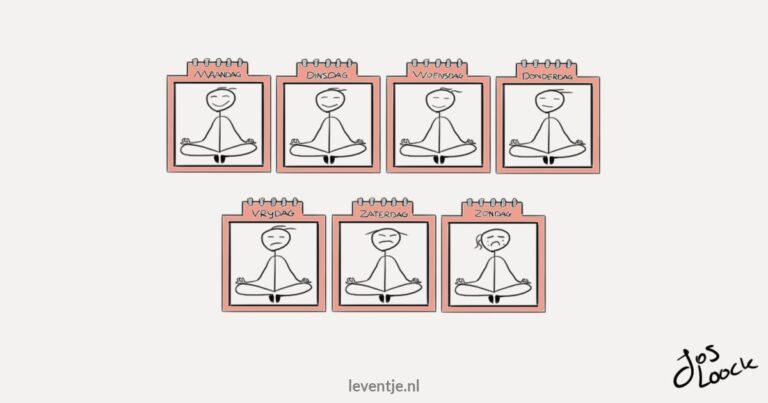 Dagelijks mediteren - Elke dag mediteren