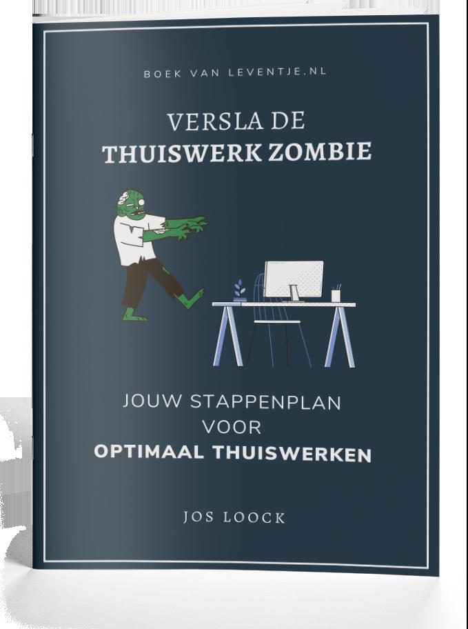 Thuiswerk Zombie
