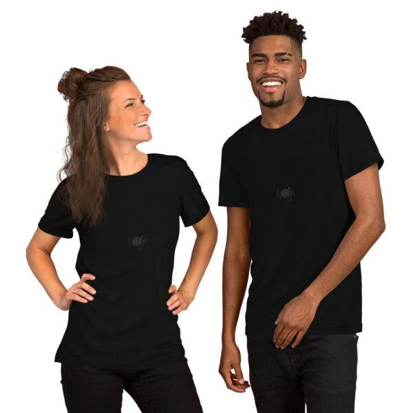 Unisex T-shirt met korte mouw