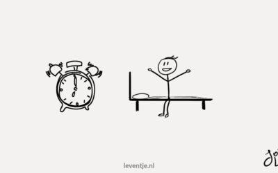 Waarom je een ochtendroutine moet hebben
